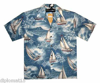 ORIGINAL Hawaii shirt Made in Hawaiian Sailing Hawaii shirt