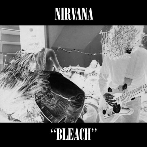 Poster Affiche Nirvana Kurt Cobain Rock Grunge Album Cover Bleach