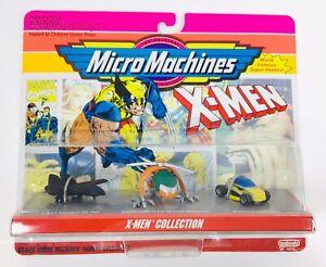 Micro Machines X-Men Collection 1993 Marvel Comics Set of 3 Vehicles #65826