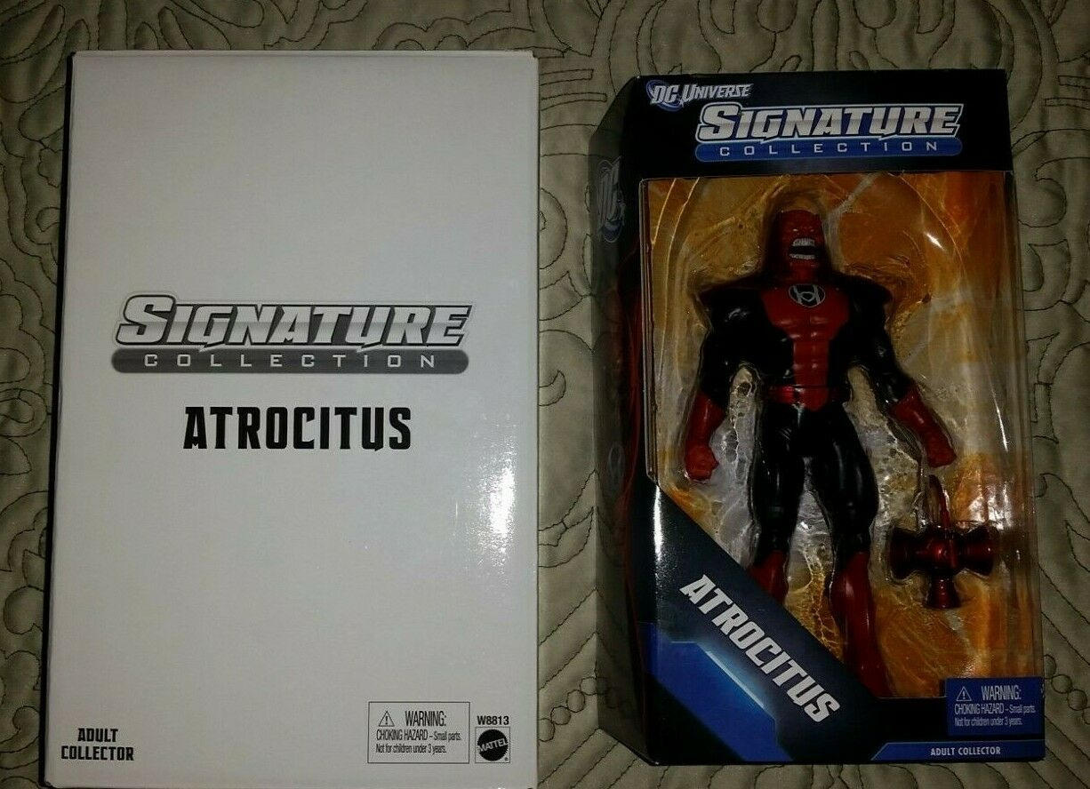 DC Signature Collection Atrocitus Matty Collector W Mailer 6