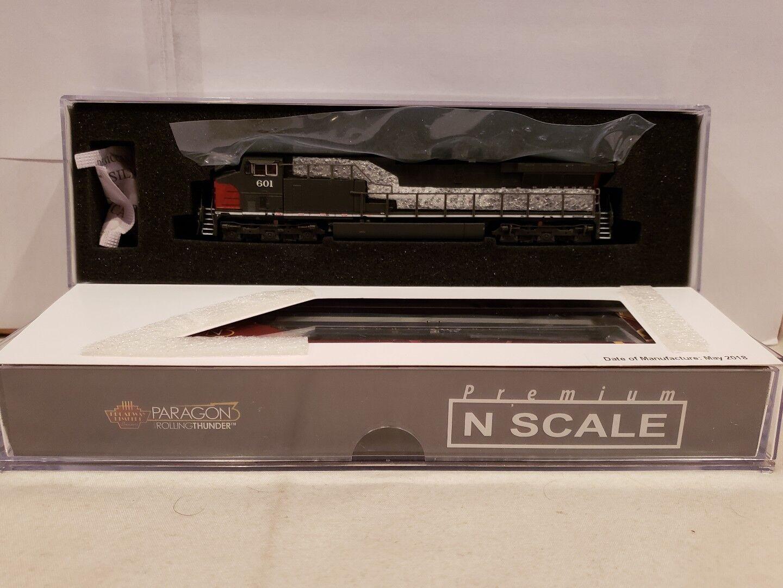 Escala N consumos Paragon 3 Rolling Thunder 3750 Gemini exclusivo AC6000, SP 601 DCC y Sonido. nuevo