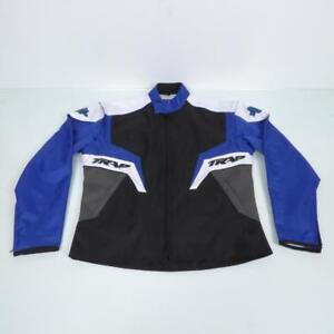 Veste-homme-de-moto-d-039-enduro-bleu-Taille-L-Jacket-TRAP-Enduro-Man-Neuf-cross-TT