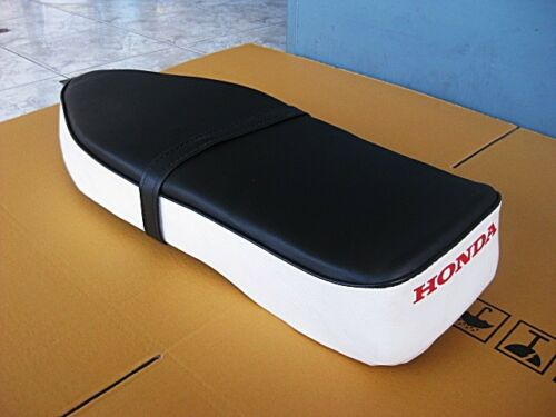 HONDA CA100 CA102 CD105 C50  C100 C102 C105  SEAT COMPLETE WHITE-BLACK #BI511#
