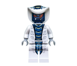 Lego Ninjago Minifigure Rattla With Weapons From Set 9441,9456,9579