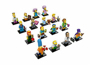 LEGO MINIFIGURES 71009 The Simpsons Series 2 Complete Set of 16 or Singles Figs