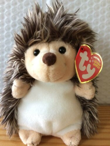 Ty Beanie Baby Prickles the Hedgehog (2010 Release) MWMT Free Shipping!!
