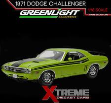 GREENLIGHT 12960 1:18 1971 DODGE CHALLENGER R/T GO GREEN