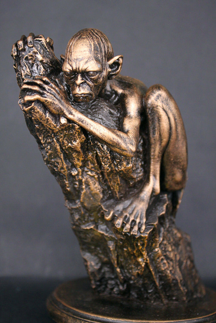 The Lord of the Rings The Hobbit Hobbit Hobbit Gollum 6  Figure Statue Resin Toy Collectibles 931e4c