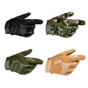 Dedo-completo-Duro-Knuckle-Guantes-De-Combate-Militar-Tactico-duro-Knuckle-Antideslizante