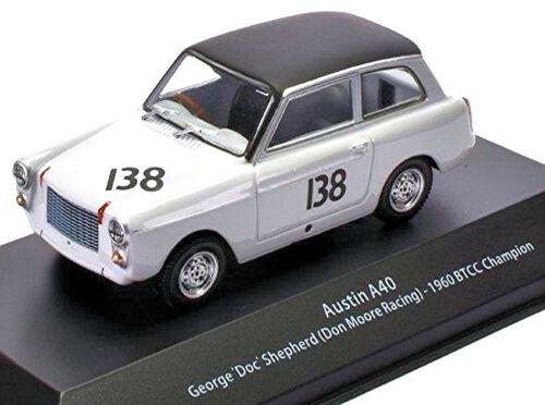Austin a40 BTCC Champion 1960 #138 George Doc Shepherd 1:43