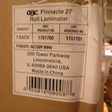 Gbc Gbc 1701700n Pinnacle 27 Thermal Roll Laminator