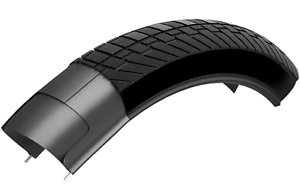"Kenda K1052 26x 2.1/"" Bike Bicycle Tire Flat K Shield Commuting Tyre Tire"