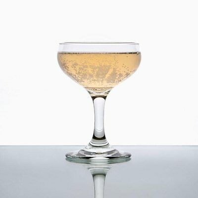 3a4ceab2ad6 Details about Set of 6 Libbey 3773 Embassy 5.5 oz Champagne / Coupe Glass