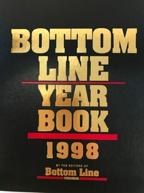 Bottom Line Year Book 1998 For Sale Online Ebay