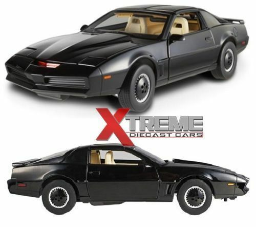 1 18 Hotwheels Original Pontiac Trans am C. I. T.T. from the Film Knight Rider 1991
