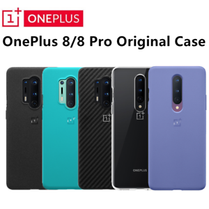 Original Official Oneplus 8 Pro 8 Sandstone Bumper Karbon Nylon Case Back Cover Ebay