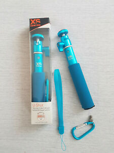 Perche Selfie - Xsories Stick extensible Monopod télescopique BIG U-SHOT Bleu