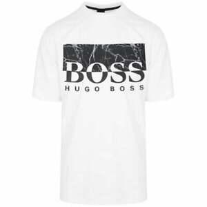 Hugo-Boss-Trek-4-Algodon-Camiseta-Blanco-Regular-Fit