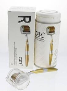 ZGTS-Derma-Roller-TITANIO-ago-anti-invecchiamento-cicatrice-Acne-l-039-inserimento-CELLULITE