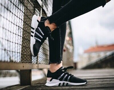 quality design d3573 90436 Adidas Original New EQT Racing ADV Women's BY9794 Size 9 Black White Ice  Pink | eBay