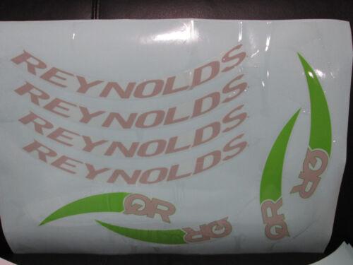 QR et Reynolds Roue Décalque Stickers-Conçu pour QR Triathlon Vélo Nouveau