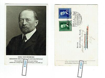 (b9357) Dr Nr. 760 - 761 Herrliche Karte Mit Sonderstempel Gelaufen!! Um Das KöRpergewicht Zu Reduzieren Und Das Leben Zu VerläNgern