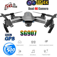 SG907 GPS Drone Kit with 4K HD Dual Camera WIFI FPV Foldable RC Quadcopter