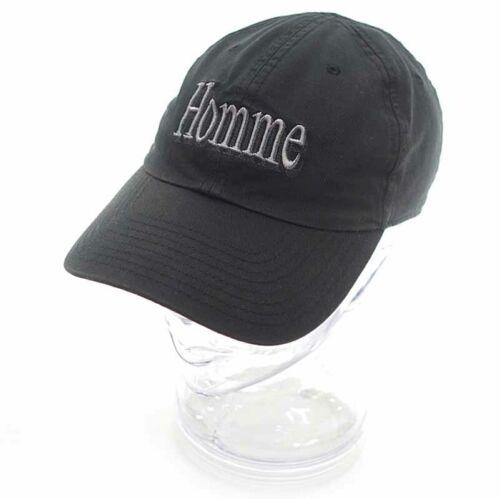 BALENCIAGA Homme embroidery cap black