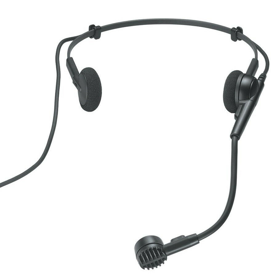 Audio Technica PRO8HEcw Wireless Condenser Headset for AT Wireless Systems, New