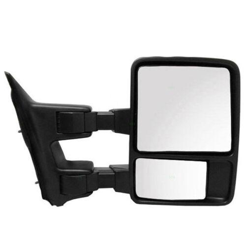 08-13 SuperDuty Pickup Truck Manual Telescoping Fold Mirror Right Passenger Side