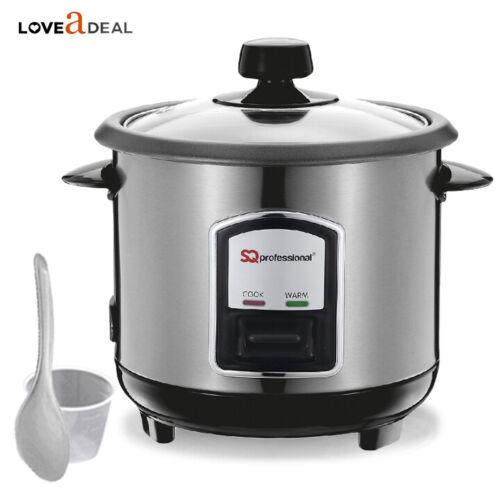 0.8L Fornello Elettrico Automatico riso a vapore in acciaio inox NonStick più caldi 350W