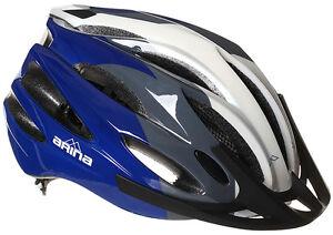 Nouvelle quête Arina route adulte vtt vélo cycle commuer casque blanc / bleu  </span>