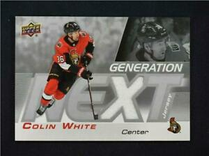 2019-20-Upper-Deck-Series-1-Generation-Next-Jersey-Relic-GN-7-Colin-White
