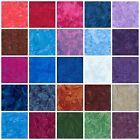 Hoffman BALI BATIK Hand-Dyed Watercolors  Fabrics by the yard 100% Cotton Batiks