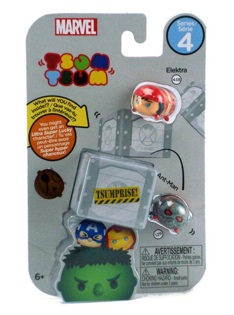 Disney Marvel Tsum Tsum Vinyl MYSTERY Ant Man Blind Pack!