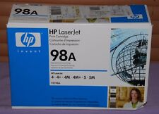 Genuine HP 98A (92298A) Black Laserjet High Performance for HP 4/5 -- New Other