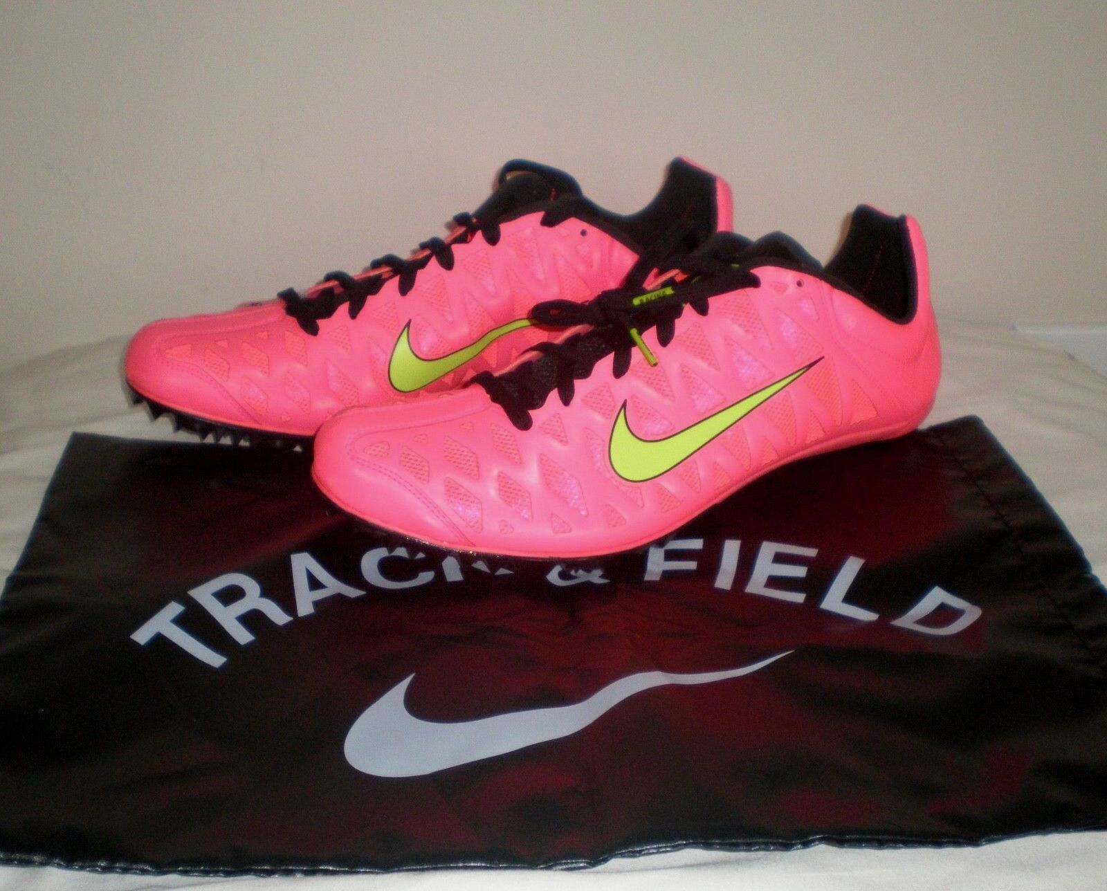 120 Men NIKE ZOOM Maxcat 4 Track Sprint Running shoes Spikes 549150 603 PUNCH 14