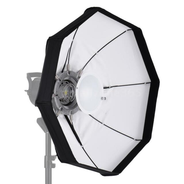 8-Pole 60cm White Foldable  Dish Softbox with Bowens Mount for Studio N4X5