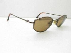 Brillenfassungen Stussy Eyegear Clark Brille Rahmen 46-18-138 Braun Oval 11941