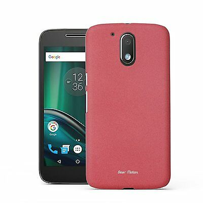 Case for Moto G4 / G4 Plus - Bear Motion Ultra Slim Back Cover Case for Moto G4
