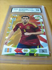 XAVI HERNANDEZ ESPANA 2014 ADRENALYN XL ROAD TO WORLD CUP STAR PLAYER GRADED 10