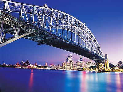 Sydney Bridge Canvas Print Decor, Choose Your Size !!!