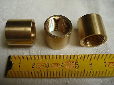 16,85 par 1,33 mm 1 raccord jonction femelle en laiton pas dit de Paris  17 mm