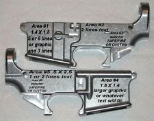 AR15 Upper OR 80% Lower Engraving Service     Custom Engraving
