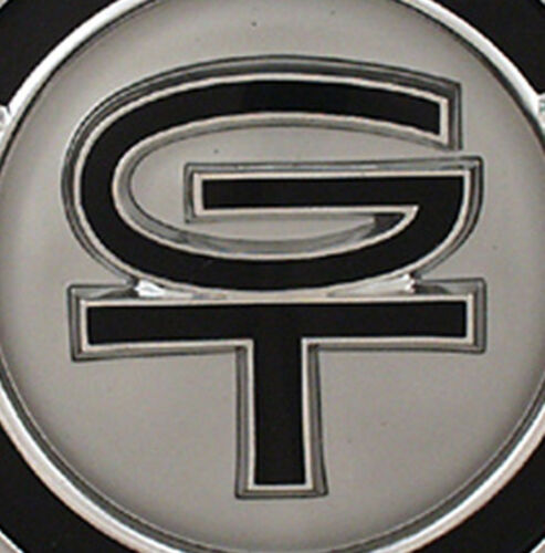 NEW 1967 Ford Mustang GT Gas Cap Chrome Twist on with cable