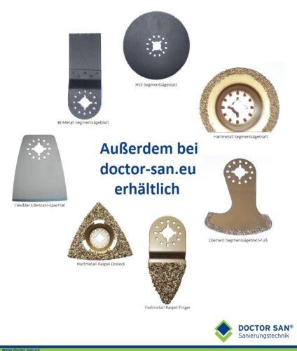Multimaster Diamant-Segmentsägeblatt Fuß-Form für Feinsäge oder Multitool