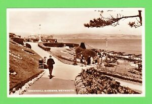 Vintage-Postcard-Greenhill-Gardens-Weymouth-Dorset-Dated-1958