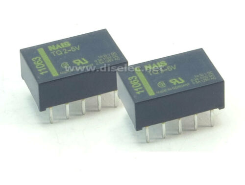TQ2-5V ; TQ2-5VDC ; TQ2-DC5 ; TQ2-VDC5 ; TQ25V ; TQ2-5 2 x RELE TQ25V RELAY