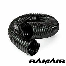 Draht Wunde Feed Kanal Ramair PVC Schwarz Flexibel Kalt Luft Verbindungsstück