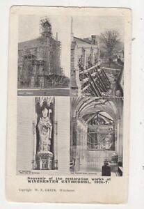 Souvenir Of Restoration Works At Winchester Cathedral 190607 Postcard 652b - Aberystwyth, United Kingdom - Souvenir Of Restoration Works At Winchester Cathedral 190607 Postcard 652b - Aberystwyth, United Kingdom